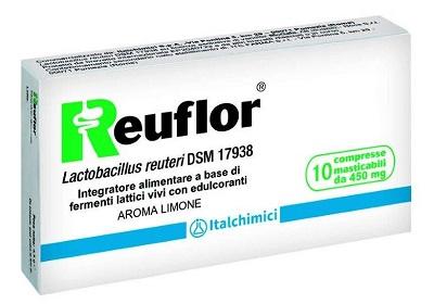 REUFLOR 10 COMPRESSE MASTICABILI AROMA LIMONE - Farmaciasvoshop.it