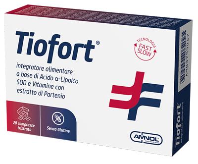 TIOFORT 20 COMPRESSE TRISTRATO - Farmabaleno