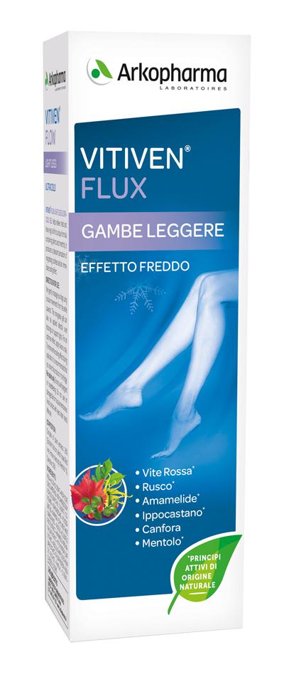 VITIVEN FLUX GAMBE LEGGERE EFFETTO FREDDO 150 ML - Spacefarma.it