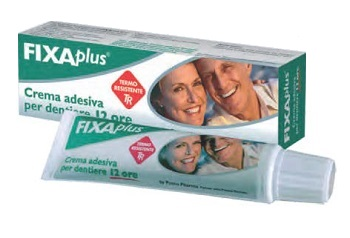 CREMA ADESIVA FIXAPLUS PERFECTA PER DENTIERE 40 G - Spacefarma.it