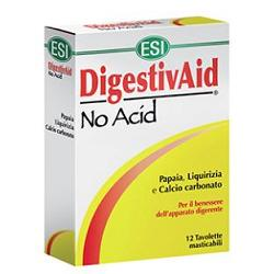 ESI DIGESTIVAID NO ACID 12 TAVOLETTE - Farmaciacarpediem.it