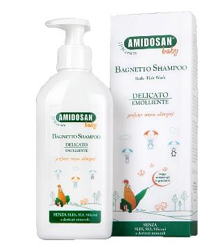 AMIDOSAN II NATURA BAGNETTO/SHAMPOO BABY 200 ML - Farmacia Bartoli