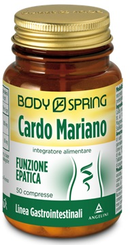 BODY SPRING CARDO MARIANO50 COMPRESSE - farmaciafalquigolfoparadiso.it
