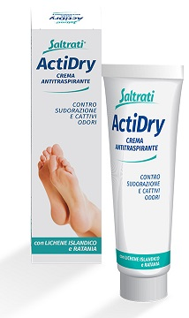 SALTRATI ACTIDRY CREMA ANTITRASPIRANTE - Farmafamily.it