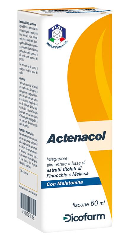 ACTENACOL 60 ML - Farmacia 33