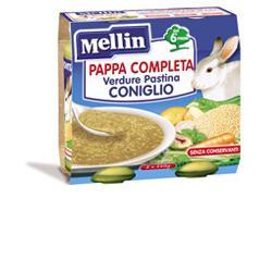 MELLIN PAPPA COMPLETA CONIGLIO 250 G 2 PEZZI - Antica Farmacia Del Lago