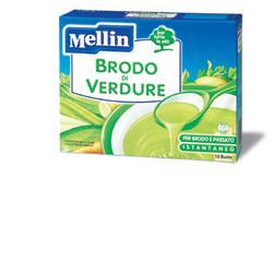 MELLIN BRODO DI VERDURE 10 BUSTINE 8 G - farmaciafalquigolfoparadiso.it