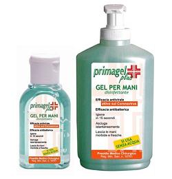 PRIMAGEL PLUS GEL DISINFETTANTE PER MANI E CUTE FLACONE LIBERTY 50 ML - Farmapass