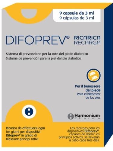 DIFOPREV 9 RICARICHE X CALZA DIFOPREV