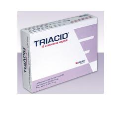 TRIACID 10 COMPRESSE VAGINALI - Carafarmacia.it