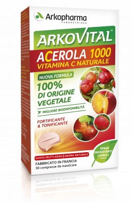 Acerola 30 Compresse Masticabili - Sempredisponibile.it