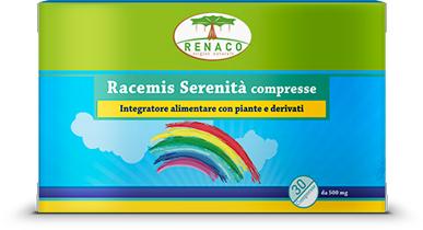 RACEMIS SERENITA' 30 COMPRESSE - Farmaciacarpediem.it