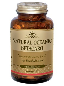 NATURAL OCEANIC BETACARO 60 PERLE - Farmapage.it