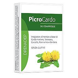 DEPURATIVO PICROCAR 30 COMPRESSE 22,5 G - Zfarmacia