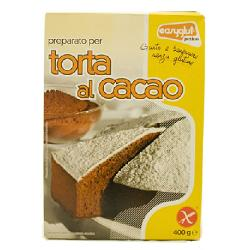 EASYGLUT PREPARATO TORTA CACAO 400 G - Farmajoy