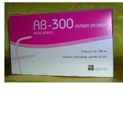 AB 300 LAVANDA VAGINALE 5 FLACONI 140 ML - latuafarmaciaonline.it