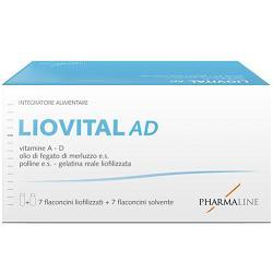 LIOVITAL ADULTI 7 FLACONCINI LIOFILIZZATO + 7 FLACONCINI SOLVENTE - Farmaci.me