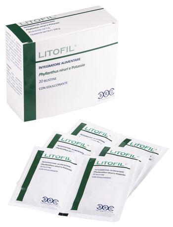 LITOFIL 20 BUSTINE DA 5 G - Parafarmacia la Fattoria della Salute S.n.c. di Delfini Dott.ssa Giulia e Marra Dott.ssa Michela