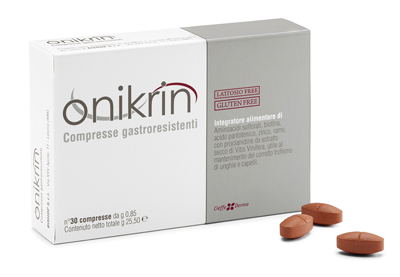 ONIKRIN 30 COMPRESSE - Parafarmaciaigiardini.it