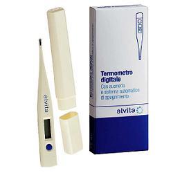 ALVITA TERMOMETRO DIGITALE CON SUONERIA SISTEMA AUTOMATICO DI SPEGNIMENTO E SCHERMO LCD - Farmaciacarpediem.it