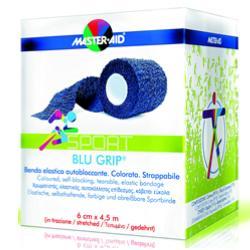 BENDA ELASTICA AUTOBLOCCANTE MASTER-AID SPORT BLUGRIP 4X4,5 - Farmacia Giotti