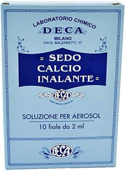 SEDO CALCIO INALANTE SOLUZIONE AEROSOL 10 FIALE 2 ML - Farmapage.it
