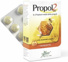 PROPOL2 EMF AGRUMI MIELE 30 TAVOLETTE PER ADULTI - pharmaluna