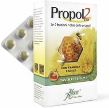 PROPOL2 EMF FRAGOLA MIELE 45 TAVOLETTE PER BAMBINI - Farmaci.me