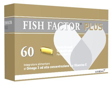 FISH FACTOR PLUS 60 PERLE GRANDI - Farmaciacarpediem.it