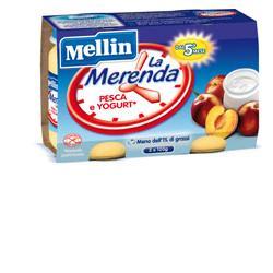 MELLIN MERENDA YOGURT PESCA 2 X 120 G - Farmafamily.it