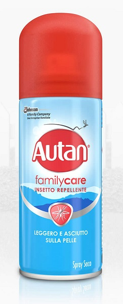 AUTAN FAMILY CARE SPRAY SECCO 100ML - Farmabenni.it