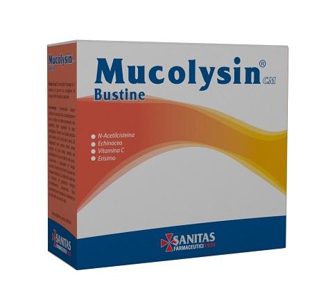 MUCOLYSIN CM 14 BUSTINE - Farmastop