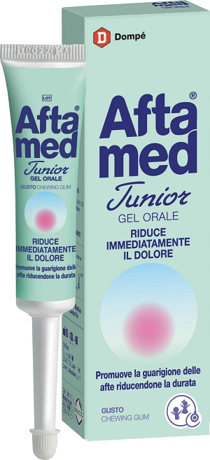 GEL AFTAMED JUNIOR ACIDO IALURONICO 15 ML - FARMAEMPORIO