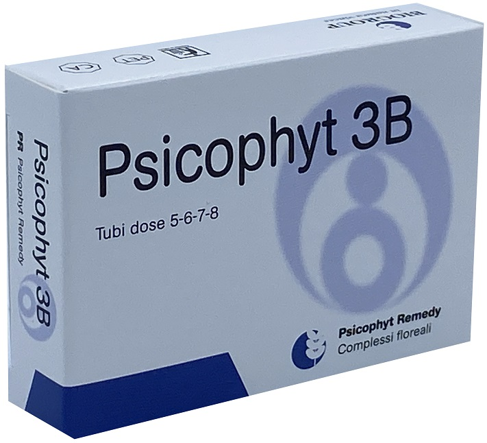 Psicophyt 3 B  4 Tubi di Globuli