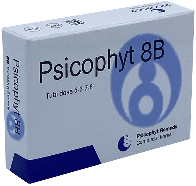 PSICOPHYT REMEDY 8B 4 TUBI 1,2 G - latuafarmaciaonline.it