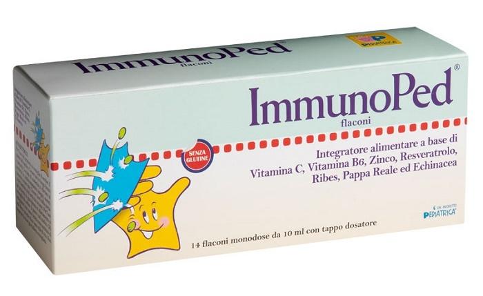 IMMUNOPED 14 FLACONCINI 10 ML - Biofarmasalute.it