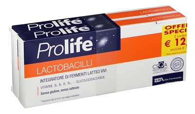 PROLIFE ZETA LACTOBACILLI 14 FLACONCINI 8 ML - Farmafamily.it