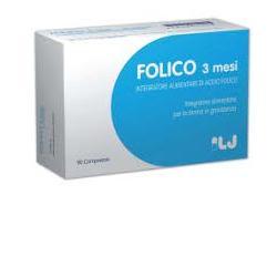 Folico 3 Mesi Integratore Acido Folico 90 Compresse