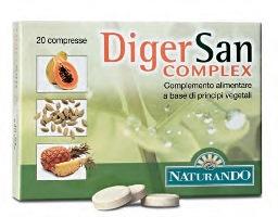 DIGERSAN COMPLEX 20 COMPRESSE 22 G - Iltuobenessereonline.it