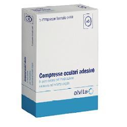 COMPRESSA OCULARE ADESIVA 5 PEZZI ALVITA - Farmafamily.it
