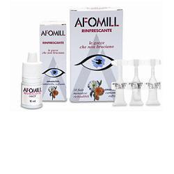 AFOMILL RINFRESCANTE GOCCE OCULARI 10 FIALE MONODOSE 0,5 ML - Farmacielo