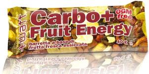 CARBO+ FRUIT ENERGY 40 G - Parafarmacia la Fattoria della Salute S.n.c. di Delfini Dott.ssa Giulia e Marra Dott.ssa Michela