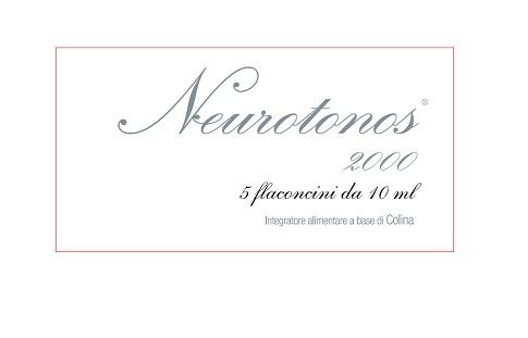 NEUROTONOS 2000 5 FLACONCINI 10 ML - Farmaseller