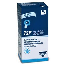 SOLUZIONE OFTALMICA TSP 0,2% TS POLISACCARIDE FLACONE 10 ML - Farmafamily.it
