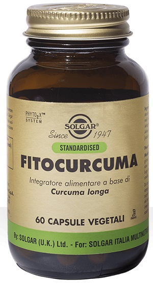 FITOCURCUMA 60 CAPSULE VEGETALI - Farmaconvenienza.it