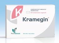 KRAMEGIN 10 COMPRESSE VAGINALI 1,3 G - Farmafamily.it