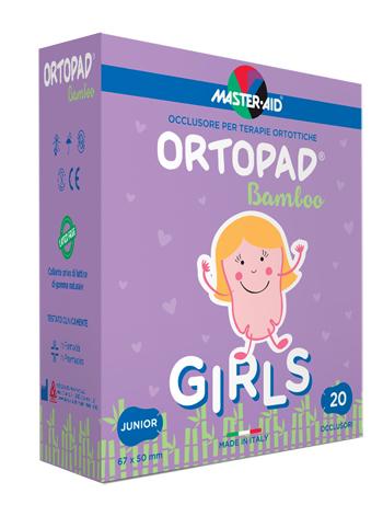 CEROTTO OCULARE PER ORTOTTICA ORTOPAD GIRLS M 5,4X7,6 20 PEZZI - Farmastar.it