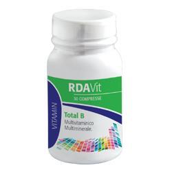 RDA VIT TOTAL B 30 COMPRESSE - Farmaciasconti.it