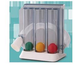 Incentivatore Di Respiro Pulmogain Con Tubo Corrugato E Boccheruola In Scatola Singola