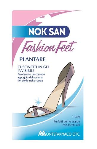 NOK SAN FASHION CUSCINETTO GEL PLANTARE - Farmaunclick.it